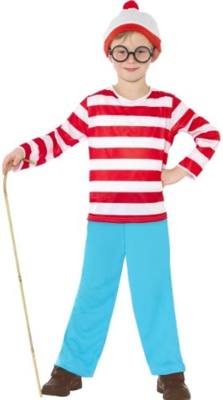 Gemz Fancy Dress Where'S Wally Costume - Small