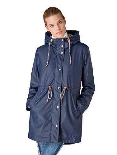 TOM TAILOR dames water- en winddichte regenjas in een vrouwelijke snit jas
