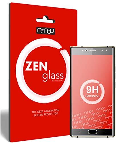 ZenGlass Flexible Glas-Folie kompatibel mit Oukitel K3 Panzerfolie I Bildschirm-Schutzfolie 9H I (Kleiner Als Das Gewölbte Bildschirm)