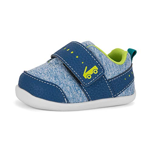See Kai Run Kids Baby Boy's Ryder (Infant/Toddler) Blue/Green 4 Toddler