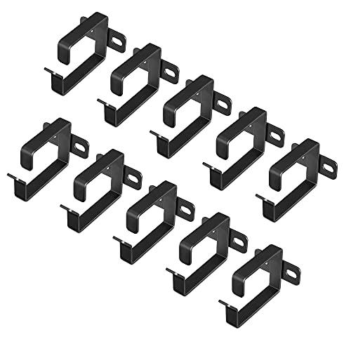 kwmobile Anilla para organizar Cables - Set de 10x Gancho para organización...