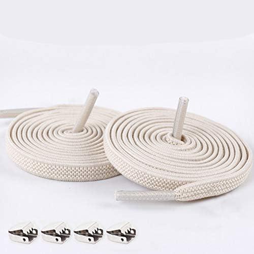 Sqiuxia 1 Pair No Tie Lazy Elastic Shoelaces Elastic Rubber Shoes Lace Sneaker Children Safe product image