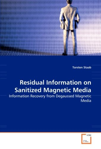 Residual Information on Sanitized Magnetic Media: Information Recovery from Degaussed Magnetic Media