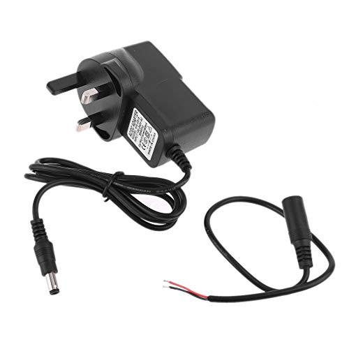 Adaptador de alimentación universal EU/US/AU/UK enchufe 5,5 x 2,1 mm DC 3 V 1,5 A fuente de alimentación Reemplace el eliminador de pilas D AA y otros dispositivos de 3 V