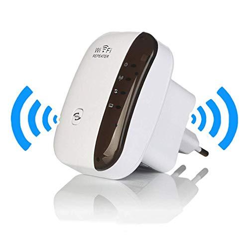 DRAGZJQ Repetidor de WiFI,amplificador de señal de 300Mbps,amplificador de WLAN para el hogar y la oficina económico