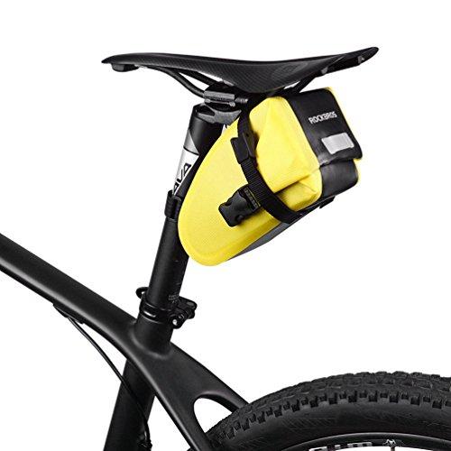 RockBros resistente al agua bolsa para sillín de bicicleta Ciclismo asiento paquete...