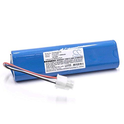 vhbw Li-Ion batería 3400mAh (14.8V) para robot limpiasuelos robot autónomo de limpieza Philips FC8772, FC8776