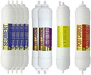 8EA Premium Filtre à eau de rechange 1 an pour Hanil World : PHILEO-802RO - 1 micron