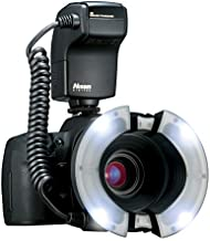 Nissin MF18 Macro Ring Flash for Canon - TTL Flash with Soft Diffuse Light and Precise Control for Professional Macro Photography, Manual 1/1 to 1/1024, High-Speed Sync (HSS), User Friendly Controls