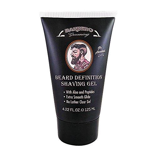 Barbero Beard Definition Shaving Gel 4.22 Fl. Oz. / 125 ml.