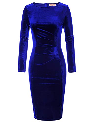 Vestido Hasta Rodilla Mujer Marca Belle Poque