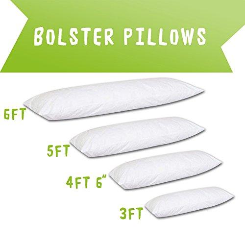Rohilinen• Orthopedic Multi-Purpose Bolster/Pregnancy/Maternity Support Pillow (Super King 6ft Bolster)