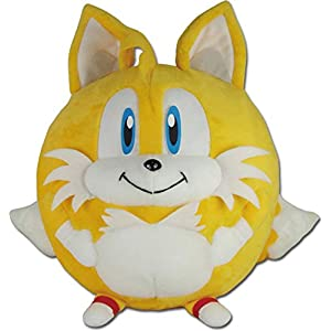 "Great Eastern Entertainment Sonic The Hedgehog- Tails Ball Plush 8"" H - 41tIO JmG9L - Great Eastern Entertainment Sonic The Hedgehog- Tails Ball Plush 8″ H"
