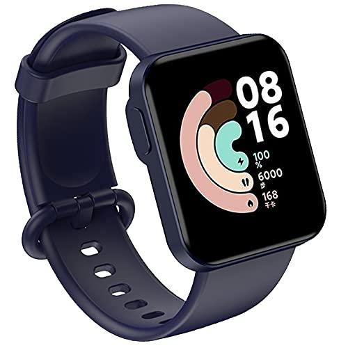 KAISENSHUO Compatible para Xiaomi Mi Watch Lite/Redmi Watch Lite Correa, Reemplazo de Banda de Silicona Suave Deportiva Pulsera Repuesto para Xiaomi Mi Watch Lite/Redmi Watch Lite Smart Watch