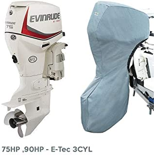 Oceansouth Evinrude Outboard Storage Full Cover E-Tec 3CYL 75HP, 90HP, 25