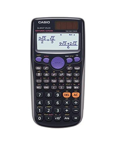 Casio FX-85GTPLUS-SB-UT Wissenschaftlicher Taschenrechner - UK Version, engl. Bedienungsanleitung