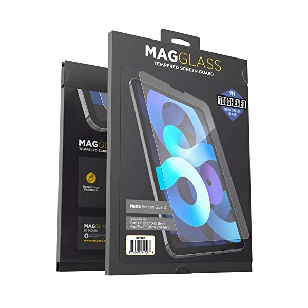 Magglass Matte Screen Protector Compatible with iPad Air 4 (10.9 Inch) Anti Glare...