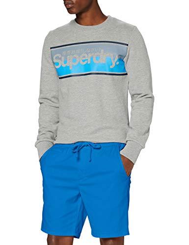 Superdry Herren SUNSCORCHED Shorts, Blau (Riviera Royal BG8), XX-Large