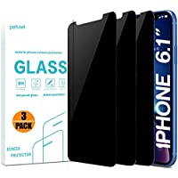 3-Pack pehael Privacy Screen Protector for iPhone 11 iPhone Xr