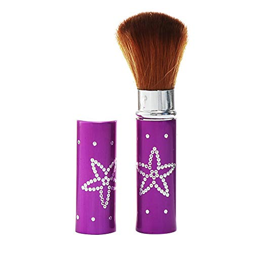Brosse Multifonctions Cheek Silky Fard À Joues Surligneur Brosse De Rechange Maquillage Du Visage Brosse Violet