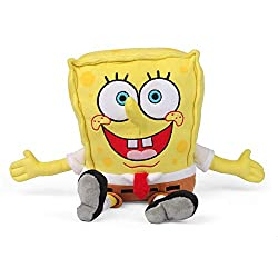 From the popular TV Show Spongebob Square Pants! Snuggable, heatable plush toy Microwave them Suitable for ages 3+ years