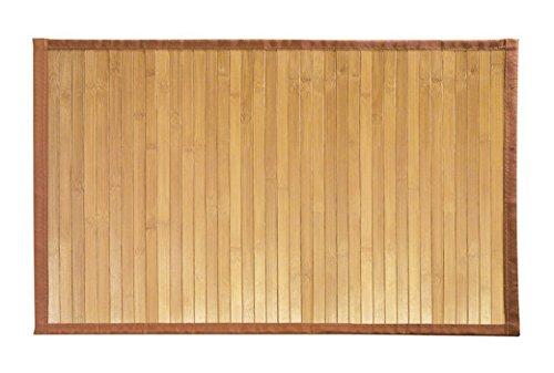 Solagua 8 Modelos 4 Medidas de Alfombra Bambu Antideslizante/Alfombra de Madera Salon, baño, Cocina y Multiusos (150 x 200 cm, Natural)