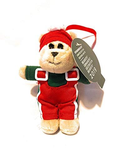 Starbucks Limited Edition 2019 Cozy Winter Bearista Christmas Tree Ornament