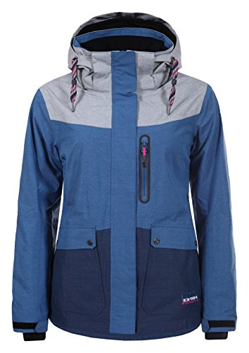 Ice Peak Kelly Parka Ski Damen XXL Aqua