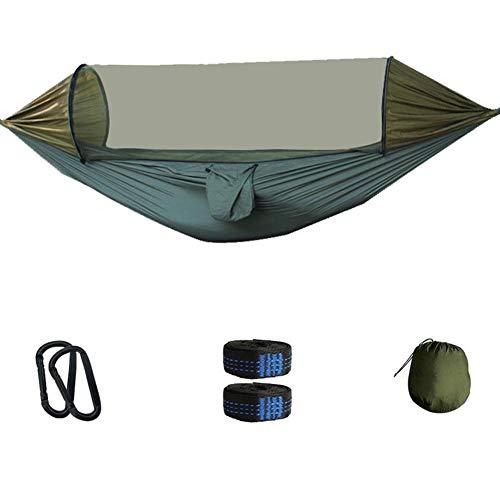 MAGT Anti-muggen Hangmat, Outdoor Multifunctionele Zonnescherm Anti-muggen Hangmat Snelle opening Hangende Tent voor Garden Beach