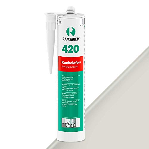 Ramsauer 420 Estufa de baldosa, Color gris claro