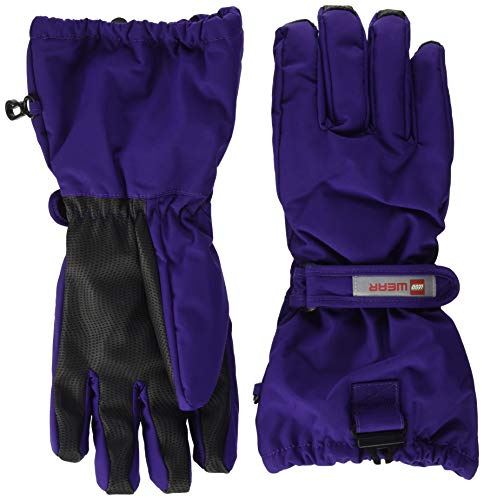 Lego Wear Kinder-Unisex LWATLIN - LEGO Tec Fingerhandschuhe Play Winter-Handschuhe, 691 Dark Purple, 122/128