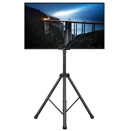 テレビスタンド TV台 TVスタンド 液晶TVスタンド 32~55インチ対応 VESA規格対応 棚付き 角度高さ調節可能 耐荷重30kg 三脚スタンド 家用 展示用