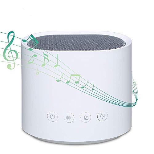 Soundmaschine, GAKOV-Maschine mit weißem Rauschen, Schlaffunktion mit 26 beruhigenden Geräuschen, Baby-Soundmaschine mit automatischem Abschalt-Timer, geeignet für erwachsene Kinder zu Hause