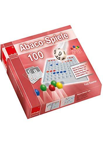 SCHUBI Abaco 100 mit Zahlen / SCHUBI ABACO 100 Spiele: Die selbstkontrollierende Hundertertafel mit dem genialen Dreh! / ohne Abaco (SCHUBI Abaco 100 ... Hundertertafel mit dem genialen Dreh!)