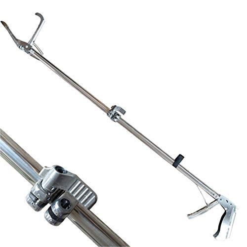 LYY 59-Zoll-Standard-Schlangenfängerzange, einstellbare 4,7-Zoll-breite Backe mit selbstsicherndem Handhabungswerkzeug für Schlangenfänger, Schlangenfütterer, Jäger und Waldarbeiter