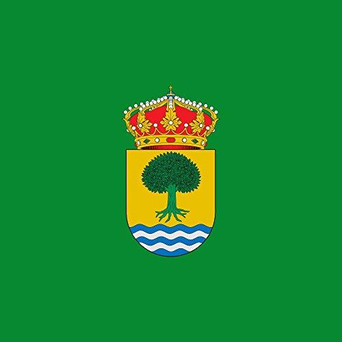 magFlags Bandera Large Municipio de Castañar de Ibor; en Cáceres | 1.35m² | 120x120cm