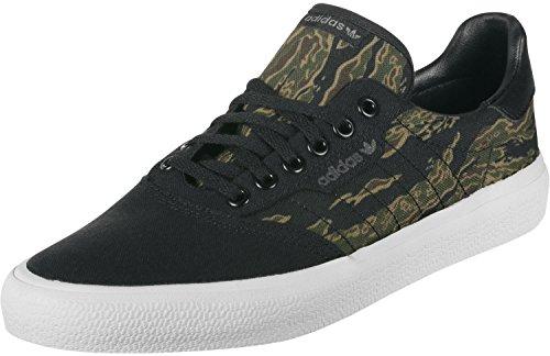 adidas Unisex-Erwachsene 3MC Skateboardschuhe, Schwarz (Negbás/Marrón/Carnoc 000), 39 1/3 EU