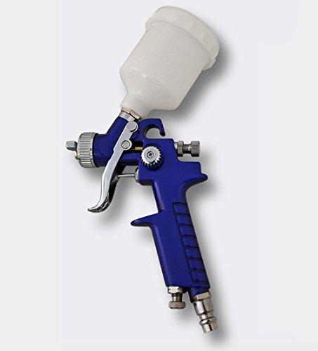 Wiltec HVLP Lackierpistole Spritzpistole Sprühpistole H2000 mit 0,8 mm Düse