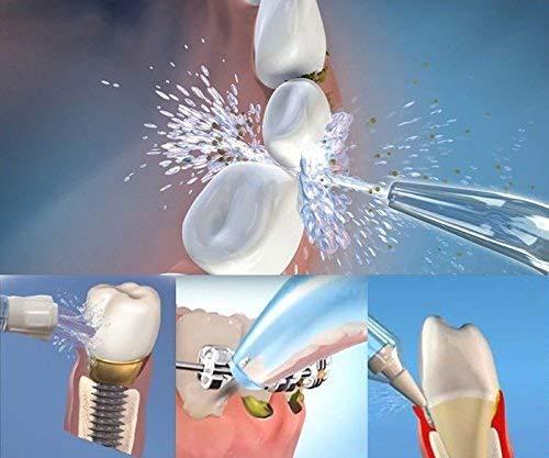 Aquapik 100 - Irrigador dental y Nasal único en el mundo con 7 Boquillas multifuncionales Recomendado por dentistas y médicos de todo el mundo. Irrigador bucal profesional garantia 5 años