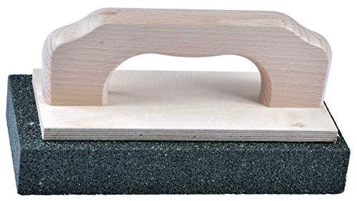 Schleifstein mit Handgriff 200 x 100 x 35 mm Körnung 30