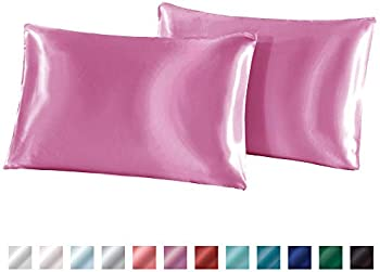 2-Pack Autook 20''x36'' Silky Satin King Size Pillowcase
