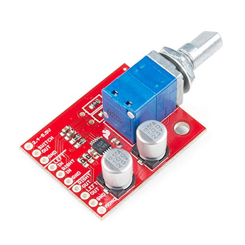 SparkFun (PID 14475 Noisy Cricket Stereo Amplifier - 1.5W
