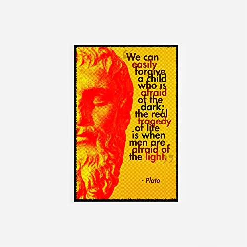 // TPCK // Platone Poster Fotografico Regalo - Formato A4 (21 x 29cm)