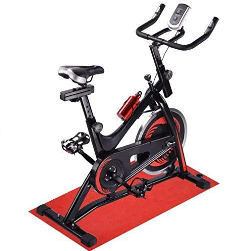 Spinning bike Cyclette Attrezzatura Sportiva Esercizio aerobico Ultra-Silenzioso Mobile Stepless velocità variabile Portante Coppa del Supporto dell'Acqua Home Gym Sport 1 Confezione