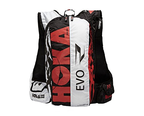 HOKA One One EVO Race 17L mochila Negro / Rojo, Blanco - Moc