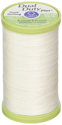 MEZ Dual Duty Handquilting, 325yds, S960000-00100, Farbe:100, Nähgarne White 297m