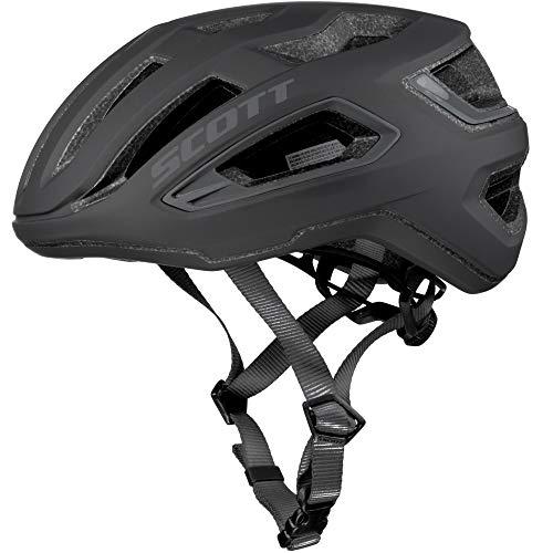 SCOTT 275195, Casco Bici Unisex Adulto, Black, L