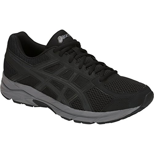 ASICS Gel-Contend 4 Men's Running Shoe, Black/Dark Grey, 9.5 M US