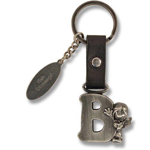 Schutzengel Schlüsselanhänger Buchstabe B