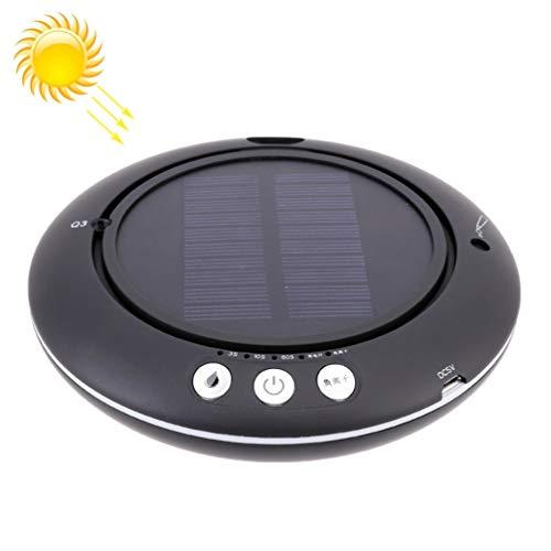 AMON LL Purificadores de Aire solares para Coche Q1 Purificador de Aire de Iones Negativos de purificador de Aire para automóviles/energía Solar para el hogar + humidificación